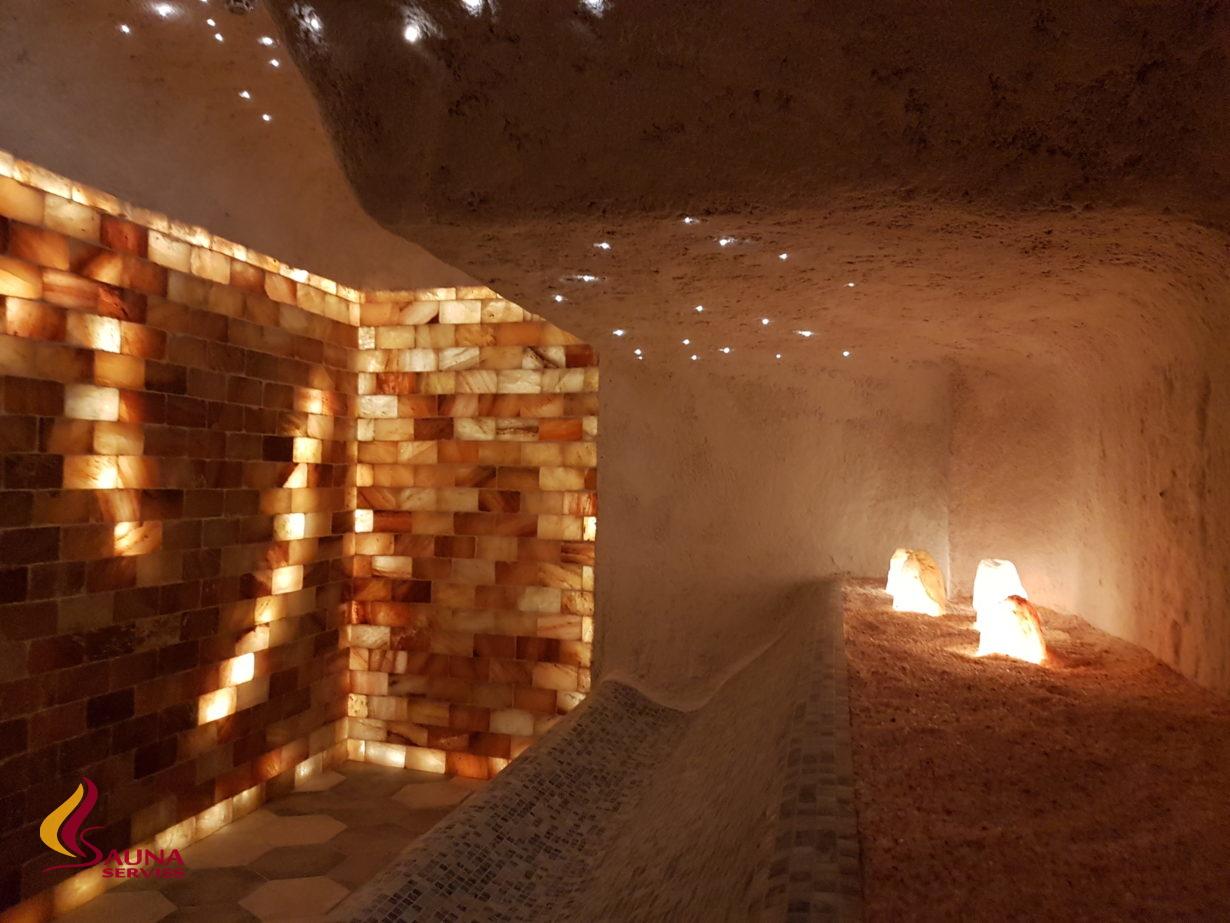 Salt saunas