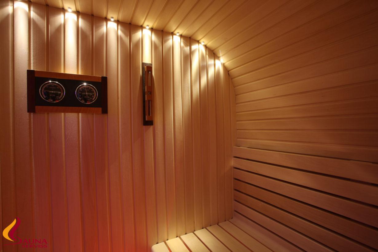 Dekorelemente für Saunas